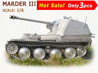 Metal Tank models: Marder III - Nazi Germany  1942-1945