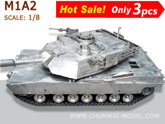 Metal Tank models: M1A2 USA